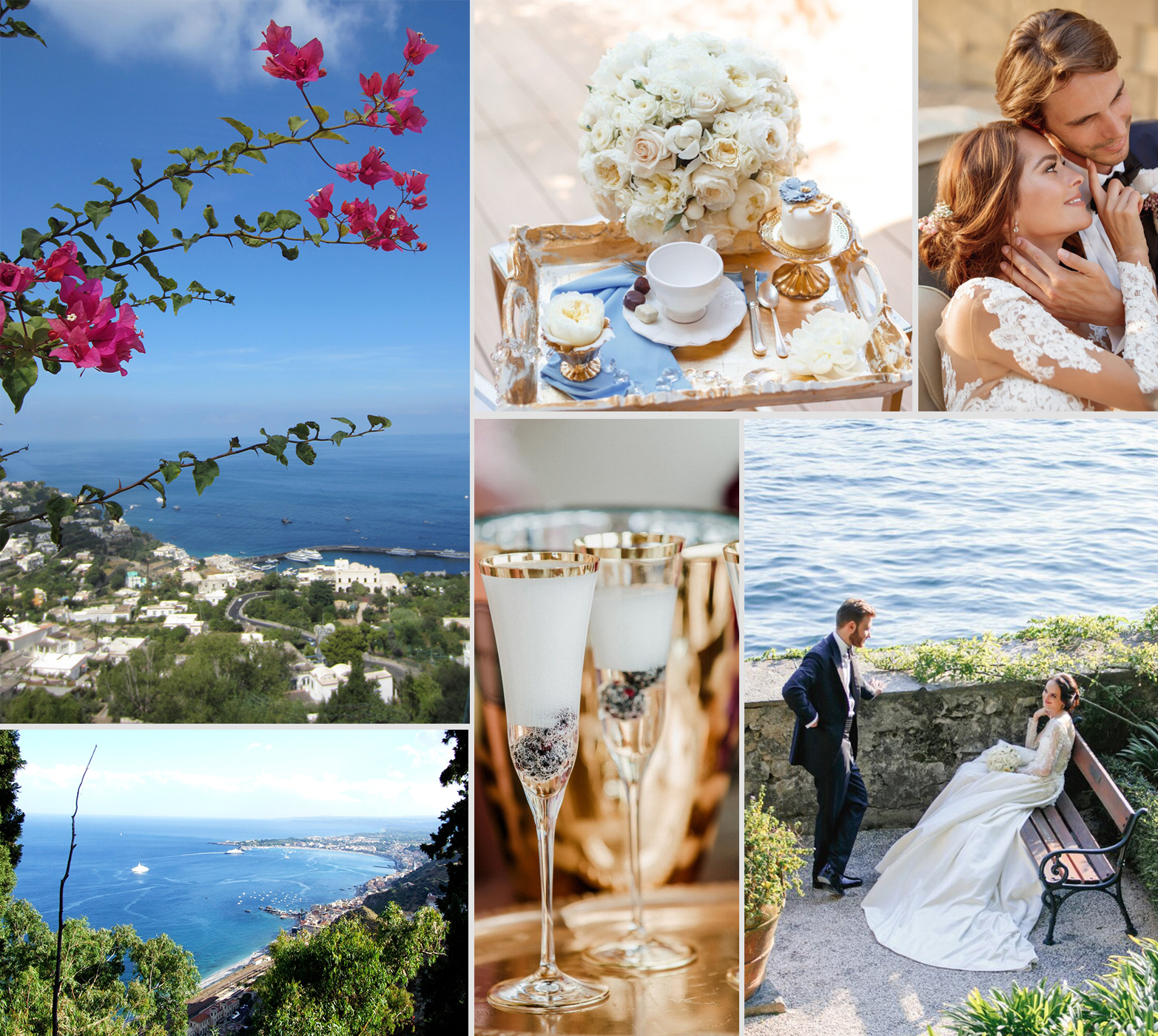 Italian Islands Wedding