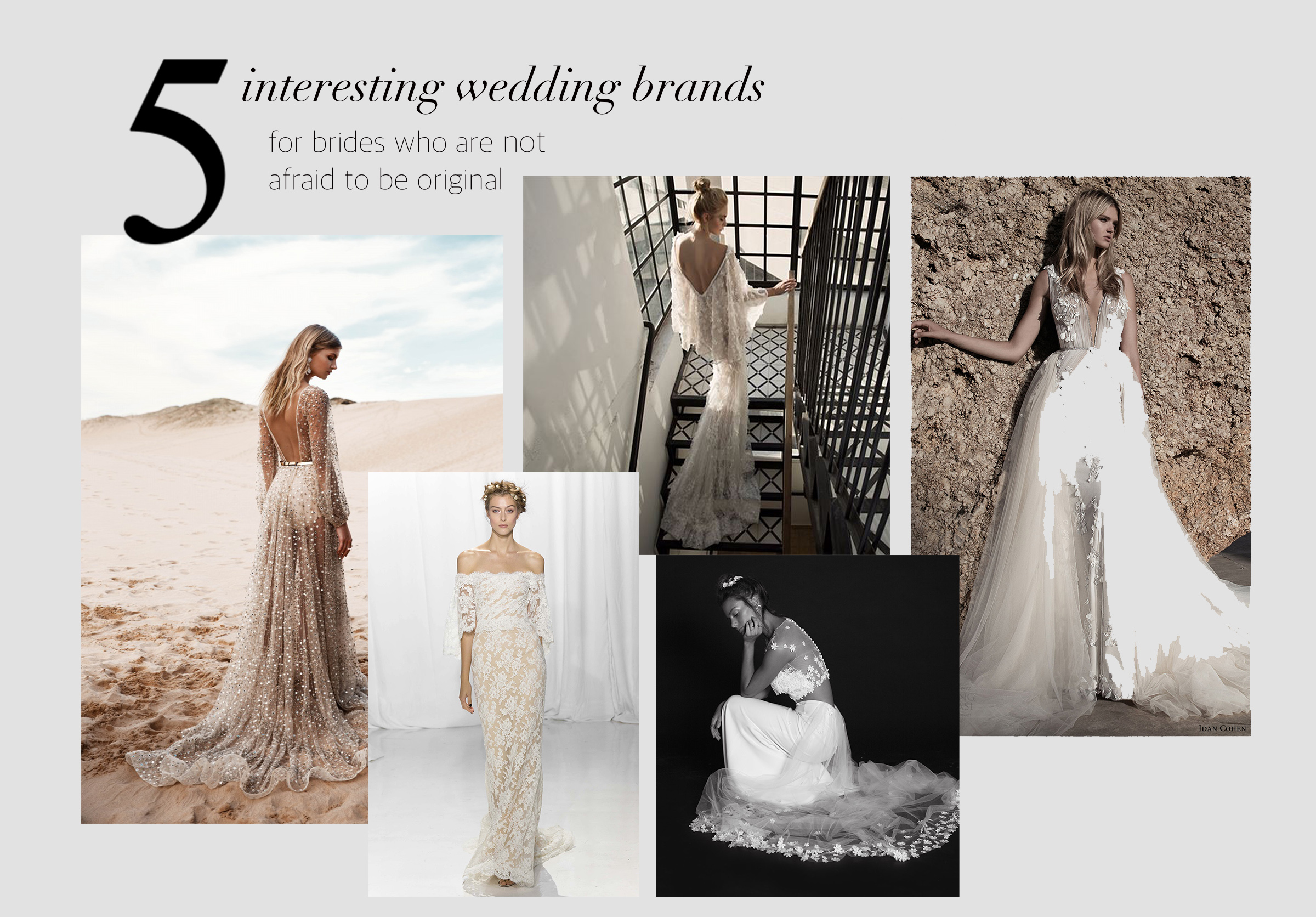 5 wedding brands that you didn't know about yet