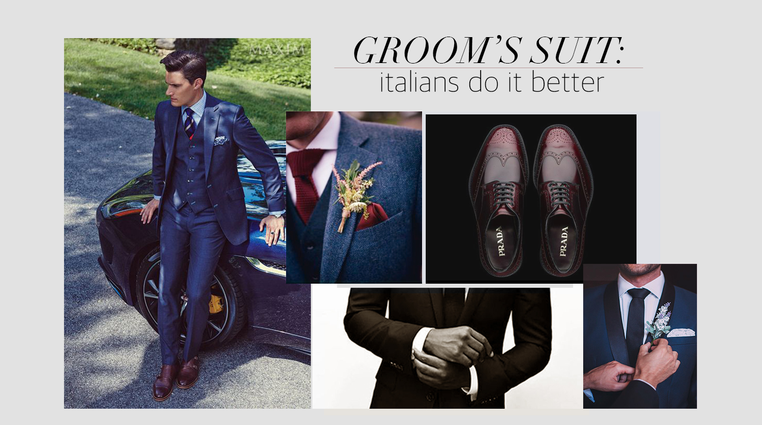 Wedding suit: how grooms do it in Italy?